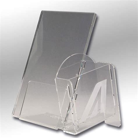 espositori da banco in plexiglass porta locandine da banco in plexiglas espositori da banco