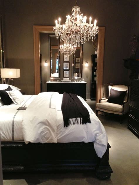 dark home decor like this dark bedroom the home touches