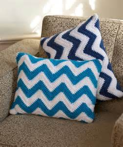 chevron pillow pair