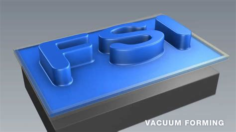 Vaccum Molding thermoforming compressing molding vacuum forming pressure forming animation