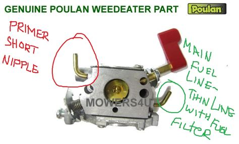 poulan chainsaw fuel line routing diagram poulan chainsaw fuel line diagram car interior design