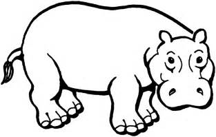 what color are hippos coloring page hippo free printable downloads from choretell