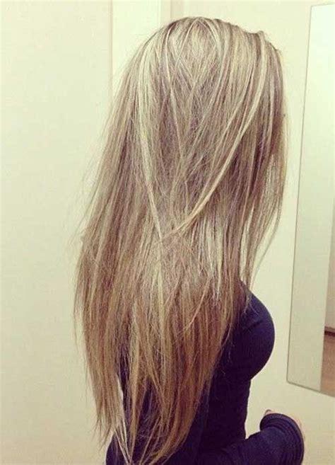 hair style for minimun hair on scalp layered straight long hair locks pinterest straight