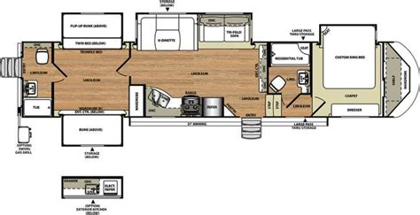 5th wheel bunkhouse floor plans 2017 forest river salem hemisphere 356qb fifth wheel fremont oh youngs rv fremont oh rv sales