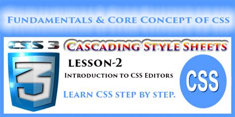 css tutorial step by step css online computer tutorials step by step
