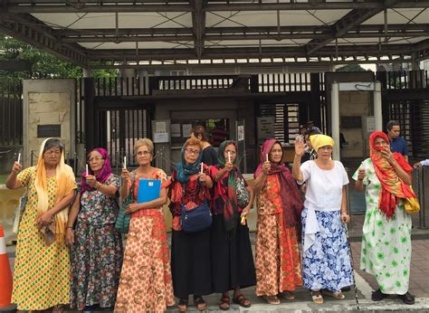 Ph Comfort Women Ask Gov T Don T Abandon Us In Fight For