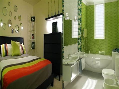 desain interior nuansa warna hijau rumah minimalis