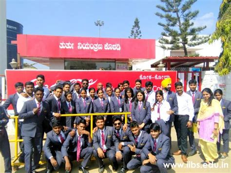 Industries For Mba Students by Industry Visit To Coca Cola Manufacturing Unit For Iibs