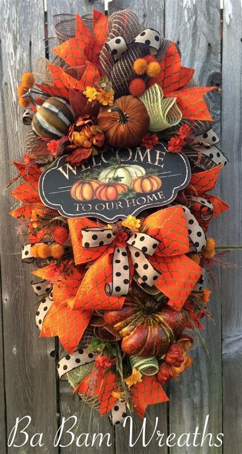 swags wreaths fall swags autumn wreaths and fall wreaths on