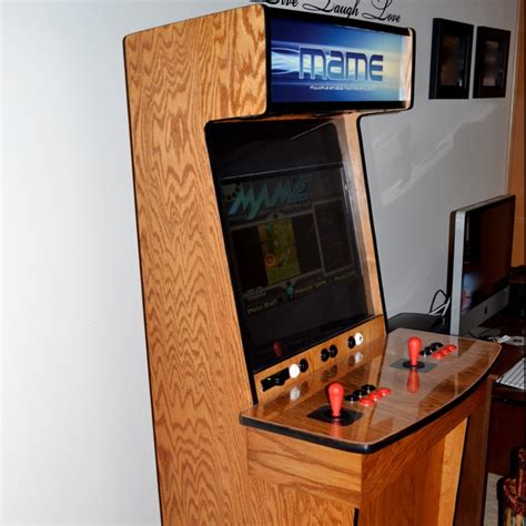slim mame arcade cabinet must build this one day mame