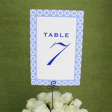 table numbers for wedding reception templates printable reception table number template print