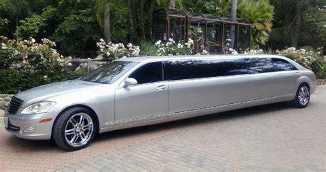 mercedes benz limousine orange county
