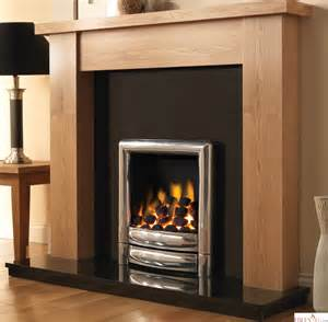Gas Fires And Surrounds Pureglow Stanford Oak Finish Fireplace Surround