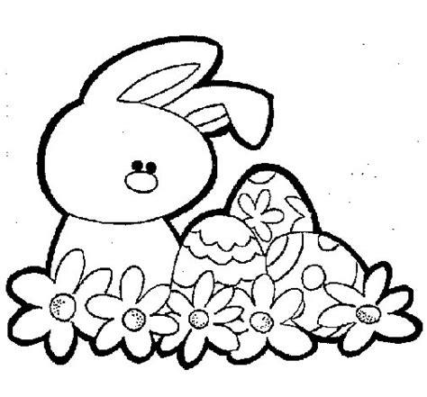 imagenes de pascuas navideñas para dibujar dibujo de conejito de pascua para colorear dibujos net