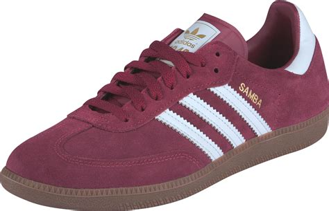 maroon slippers adidas samba shoes maroon