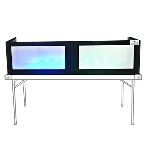 ebay touch table ls grundorf ls1652t white table top lycra dj booth facade
