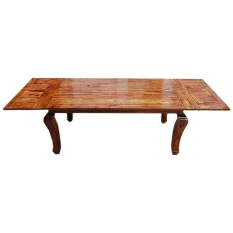 Wooden Dining Table Legs Rustic Wood Extension Cabriole Legs Dining Table