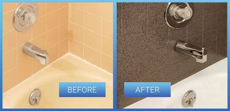 Shower Tile Resurfacing by Tile Refinishing Reglazing Resurfacing In Bathroom
