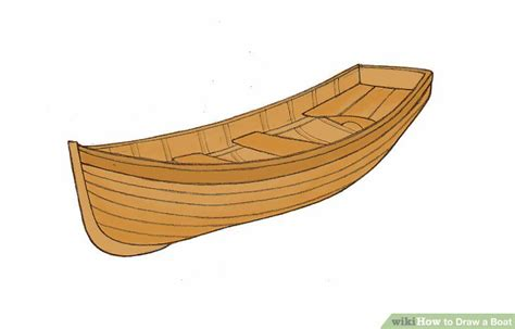 how to draw a fishing boat step by step how to draw a boat wikihow