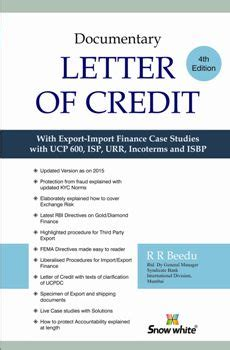 buy documentary letter of credit by r r beedu snow white publications pvt ltd books in india
