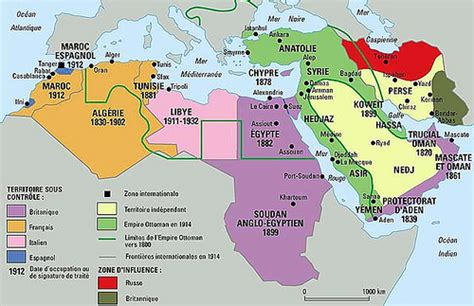 middle east map pre ww middle east map before world war one 1914 le monde