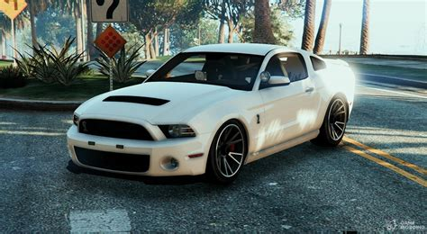 Gta 5 Autos Mustang by Unmarked Mustang Gt500 For Gta 5