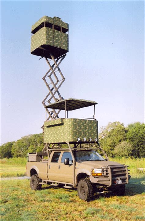 Tree Ground Blind Whitetail Trucks Custom Hunting Trucks