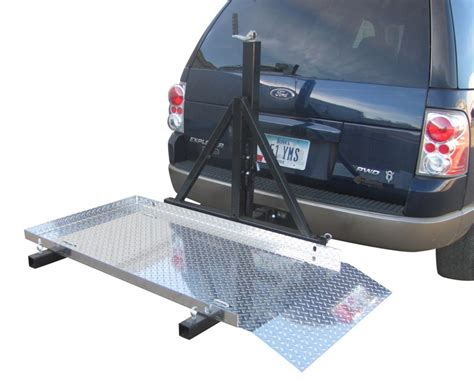 Wheelchair Rack Trailer Hitch by Trailer Hitch Mounted Scooter Wheelchair Carrier For 2