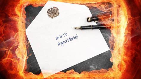 Beschwerdebrief Kurs brief an die kanzlerin es wird ernst seehofer schreibt