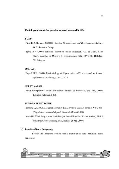 Contoh Daftar Pustaka Jurnal Indonesia Contoh Sur | contoh daftar pustaka jurnal indonesia contoh sur