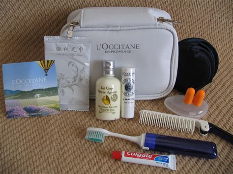 what are amenities amenity kit review air china business class 2013