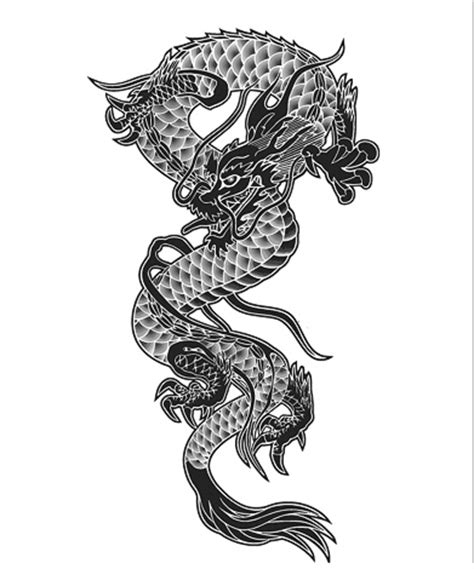 japanese dragon tattoo meaning symbolism
