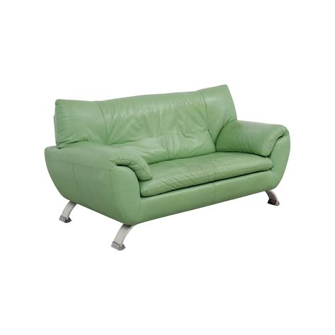 Sofa Kaufen by 74 Nicoletti Nicoletti Leather Green Sofa Sofas