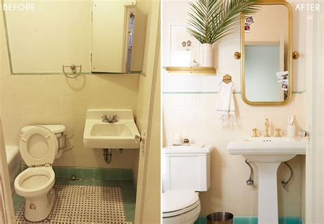 vintage style rooms small bathroom makeovers before and brady gives a refresh to his vintage bathroom emily