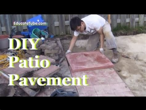 How To Landscape A Yard On A Budget Diy Backyard Patio Pavement A Cool Outdoor Weekend