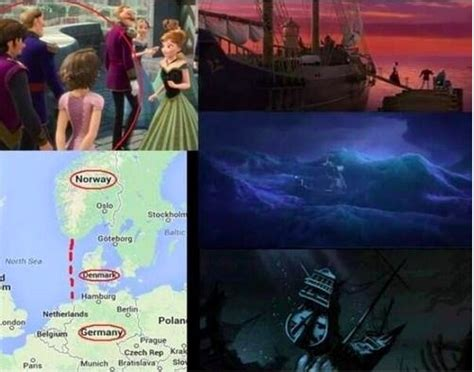 film theory elsa indisputable proof that frozen and tangled exist in