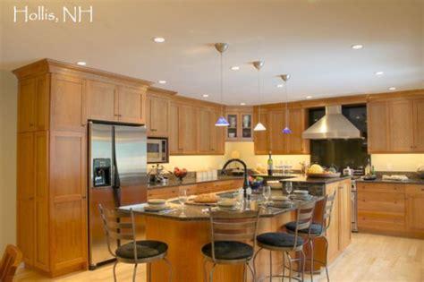 Transitional Kitchen  Full Height backsplash behind the