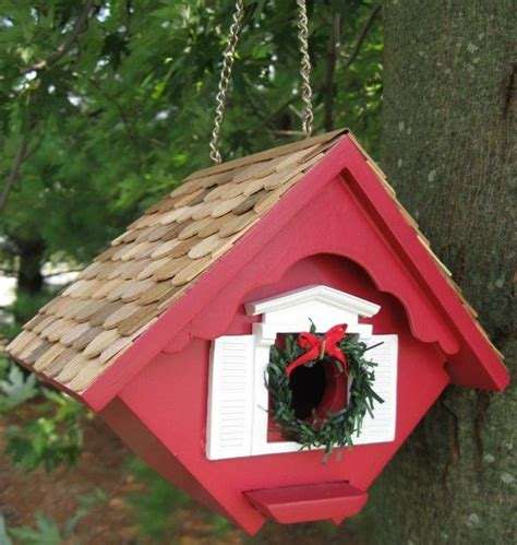 love thy space christmas bird house