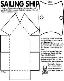 Pirate Ship Template by Cardboard Pirate Ship Template Woodworking Projects Plans