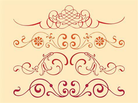 design free vector swirls vector designs vector art graphics freevector com