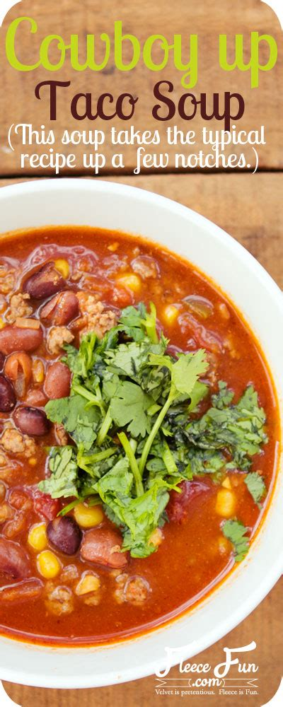 taco soup recipe dishmaps