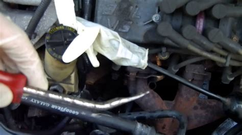 ford taurus ac compressor replacement  ohv youtube