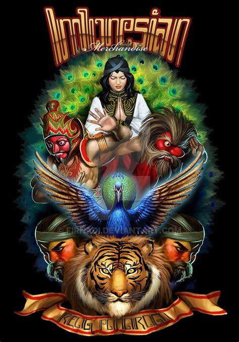 Kaos Budaya Indonesia Garuda reog ponorogo by firnadi on deviantart