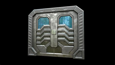 Sci Fi Door by Sci Fi Doors By Next Level 3d In Props Ue4 Marketplace