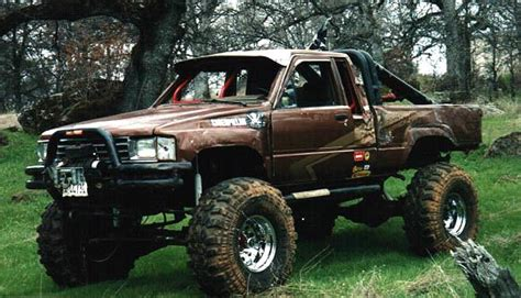 Toyota Road Truck Toyota Truck Of The Month Troy Muse And His 1984 Toyota