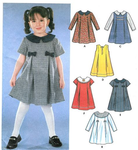pattern for toddler jumper dress toddler girls front pleat dress sewing pattern easy jumper