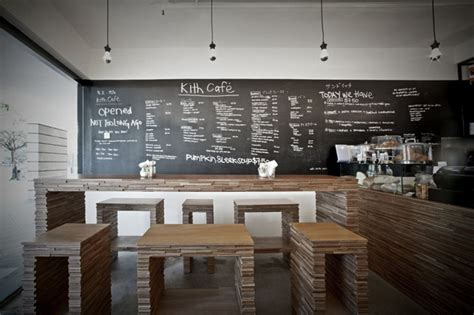 design cafe minimalis modern the kith caf 233 by hjgher 187 retail design blog