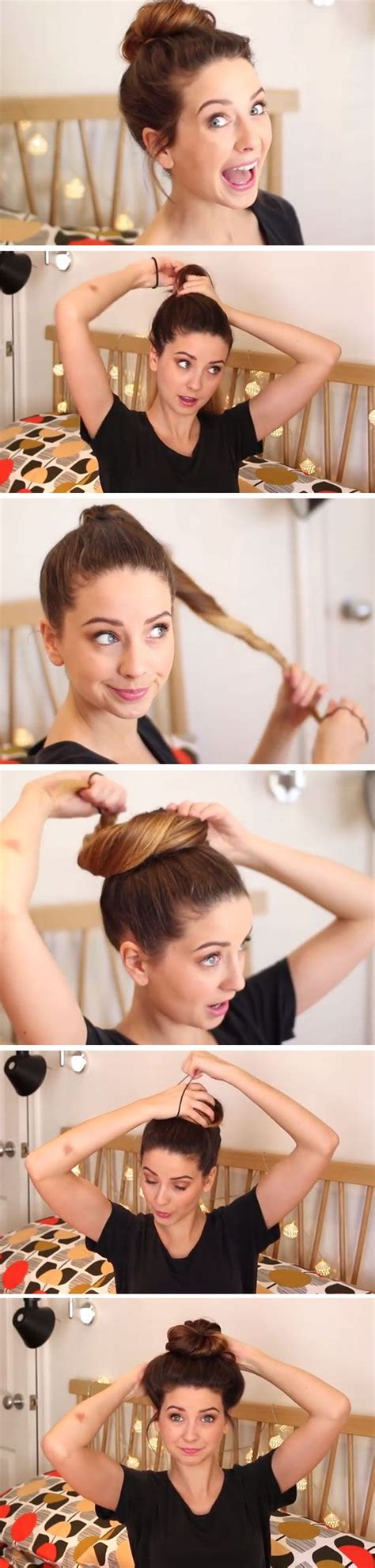 simple hairstyles for school zoella 15 cute 5 minute hairstyles for school pretty designs