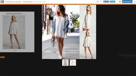 Create A Lookbook With Free Templates Catalog Machine Lookbook Template Downloads