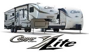 Cougar Trailer Floor Plans fifth wheels